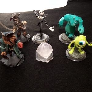Disney Infinity pirates and monsters combo.